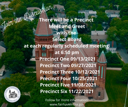 Join the Discussion- Meet and Greet for precincts