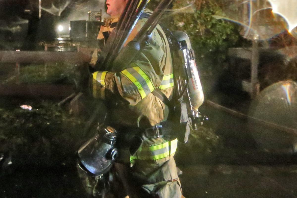 Nancy Street Fire