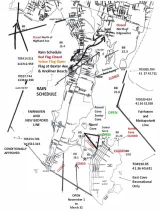 Shellfishing Map