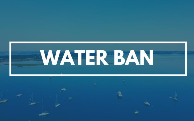 water-ban